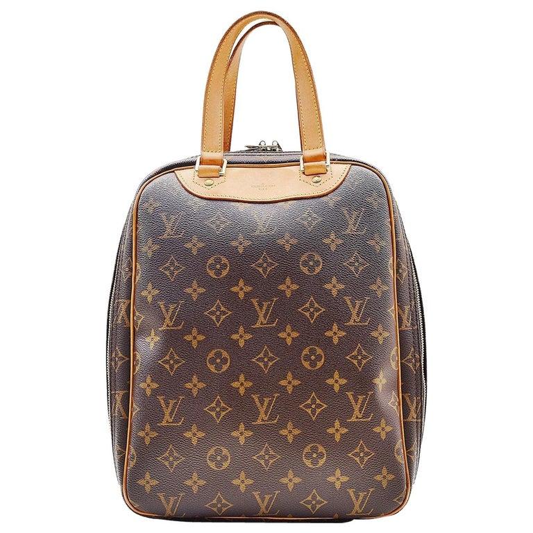 Louis Vuitton Monogram Excursion Shoe bag vintage  For Sale