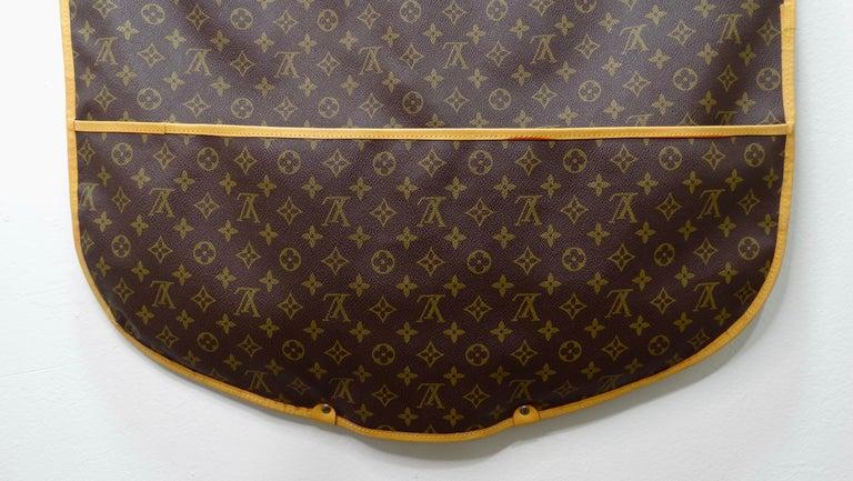 Louis Vuitton Monogram Foldable Garment Bag For Sale 1