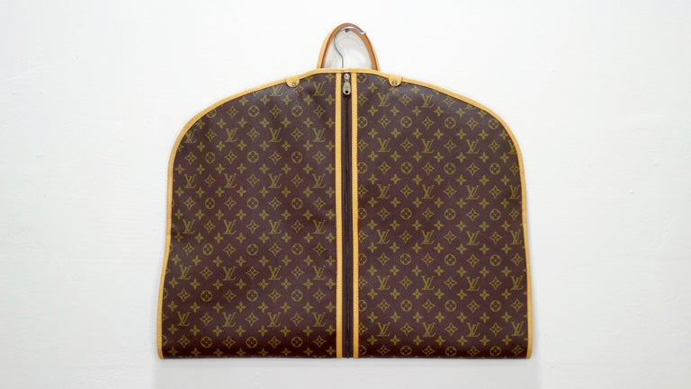 Louis Vuitton Monogram Foldable Garment Bag For Sale 2
