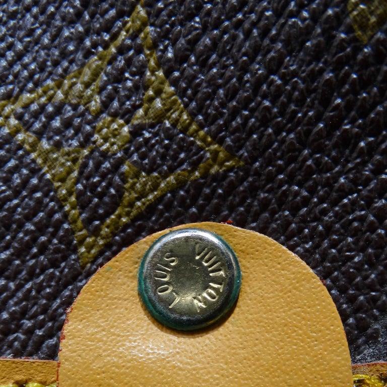 Louis Vuitton Monogram Foldable Garment Bag For Sale 3
