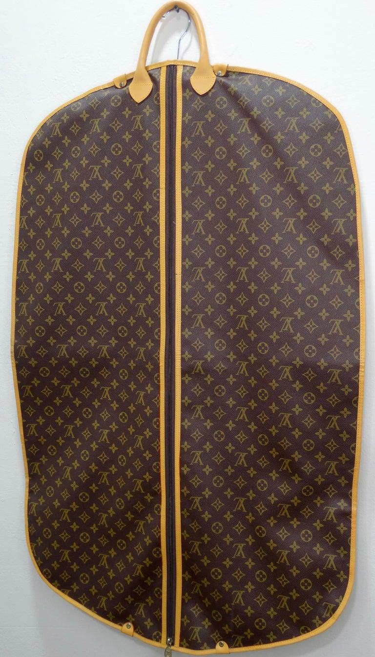 Louis Vuitton Monogram Foldable Garment Bag For Sale 4