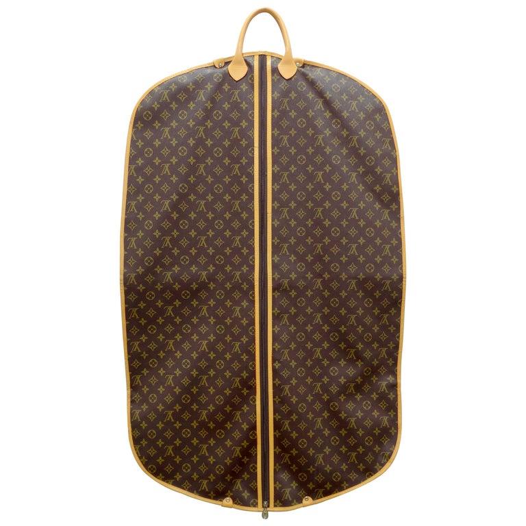 Louis Vuitton Monogram Foldable Garment Bag For Sale
