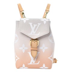 Louis Vuitton Monogram Giant By The Pool Tiny Backpack Mist