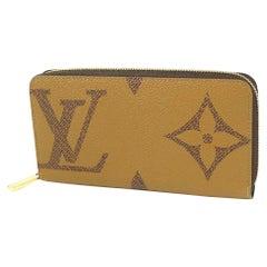 LOUIS VUITTON Monogram giant Zippy Wallet Womens long wallet M69353 beige x brow