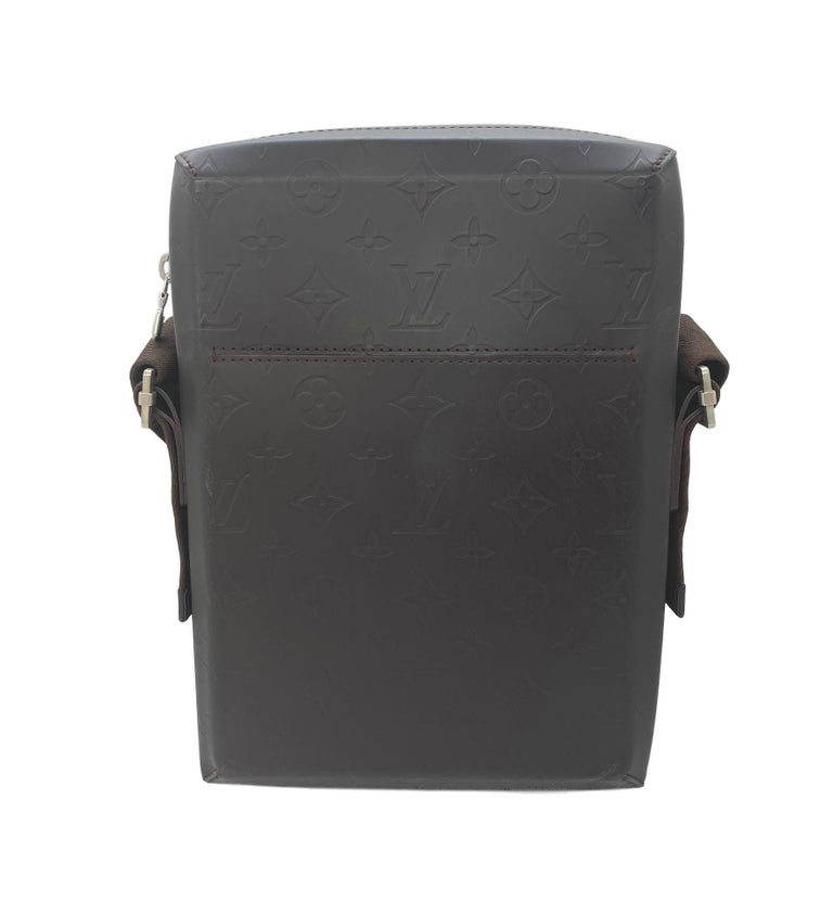 Black Louis Vuitton Monogram Glace Bobby Messenger Cross-body Bag