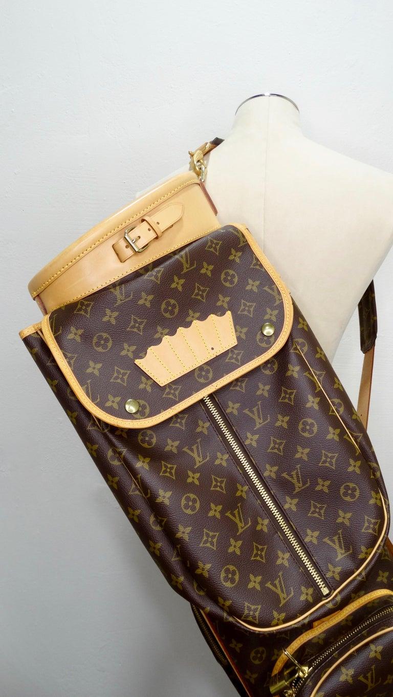 Louis Vuitton Monogram Golf Bag For Sale 7