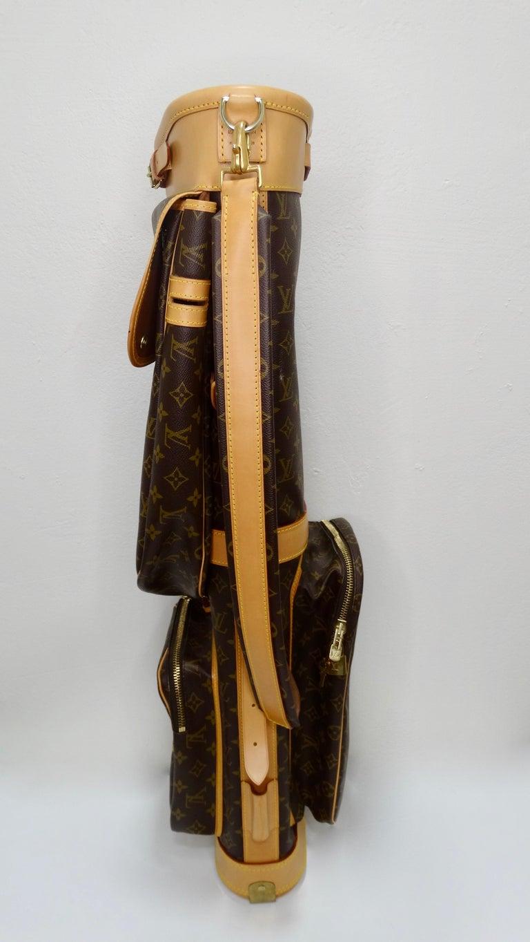 Louis Vuitton Monogram Golf Bag For Sale 9