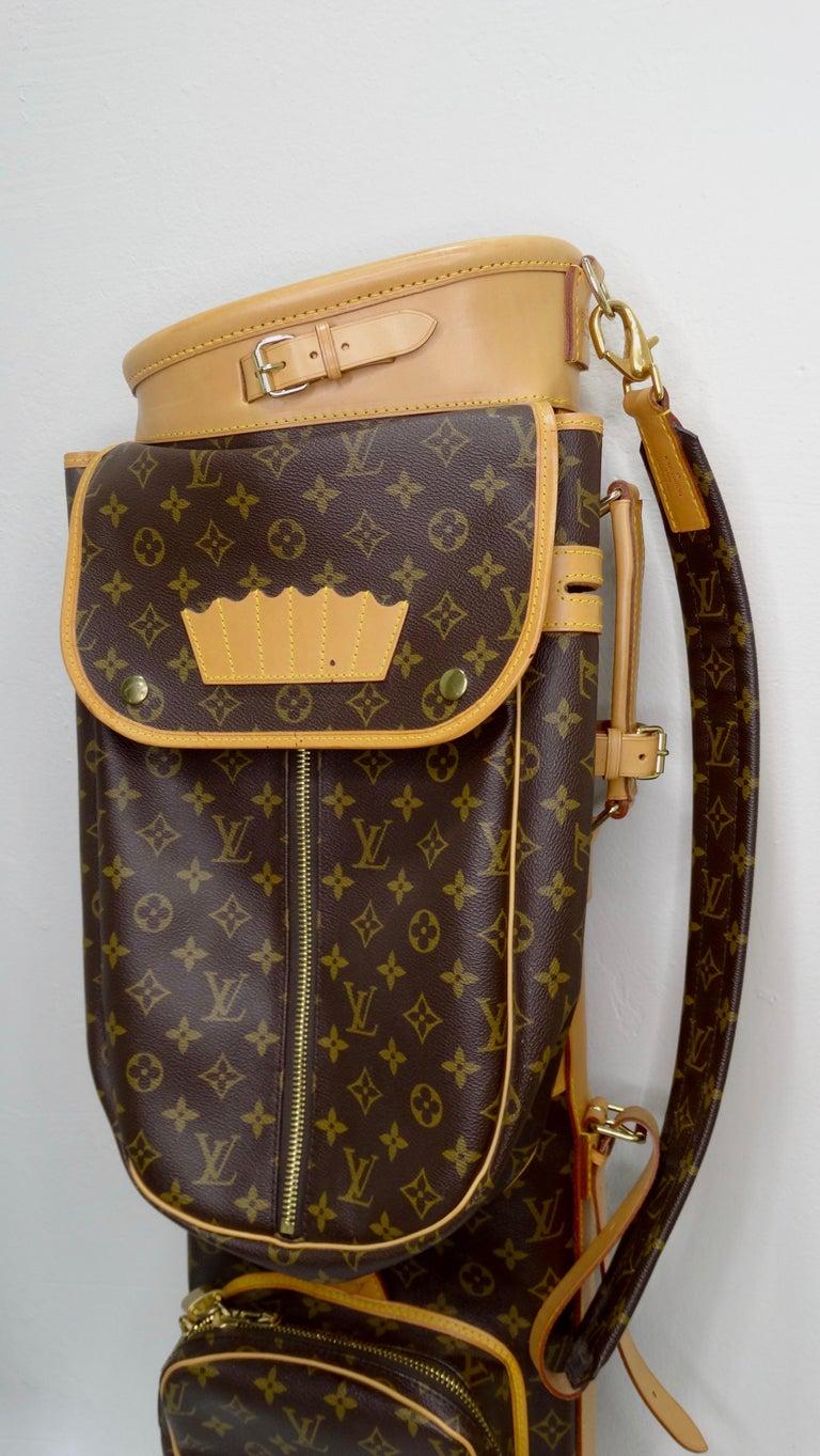 Louis Vuitton Monogram Golf Bag For Sale 11
