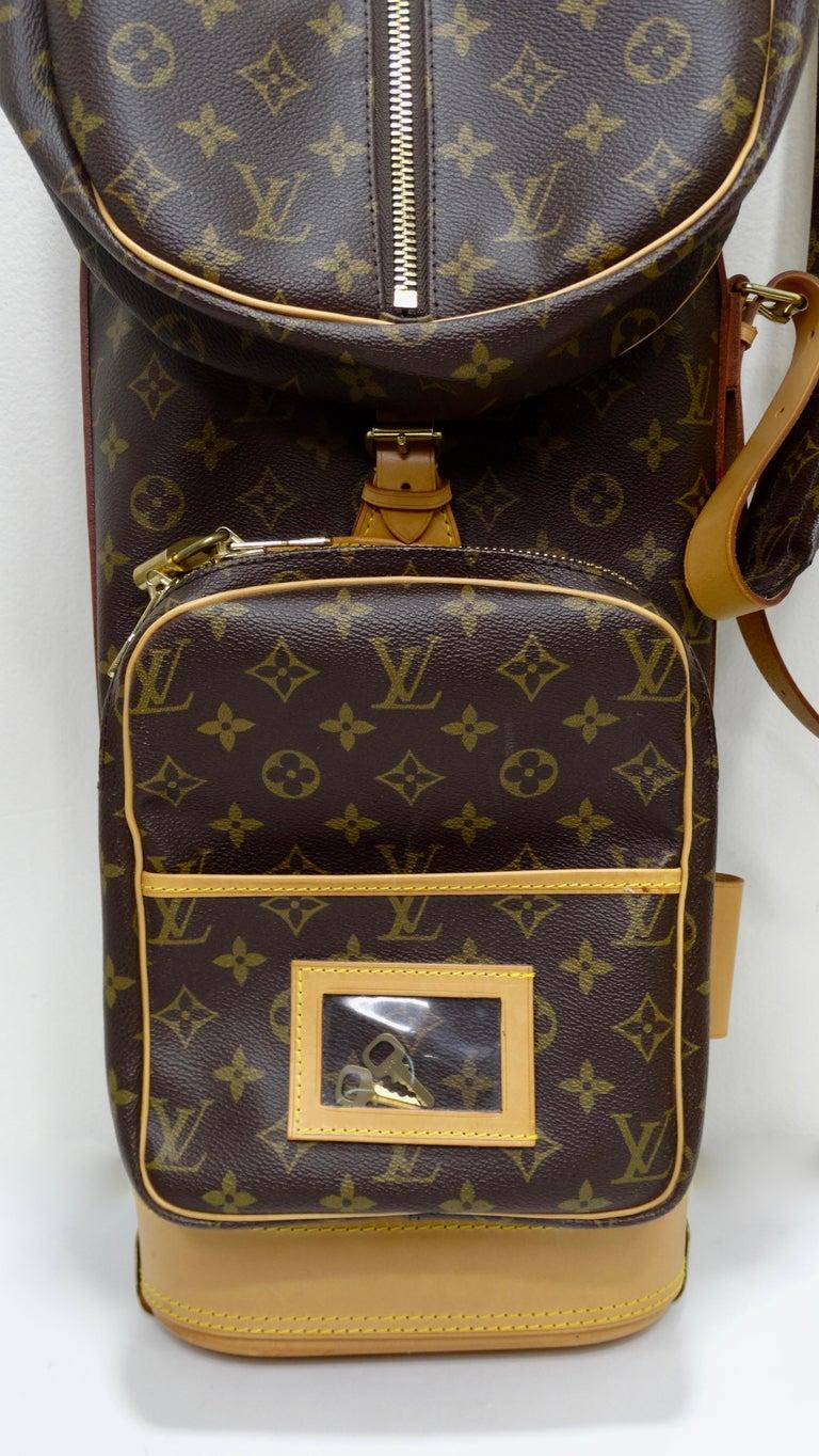 Louis Vuitton Monogram Golf Bag For Sale 12