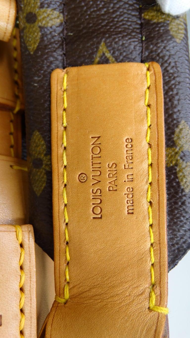 Black Louis Vuitton Monogram Golf Bag For Sale
