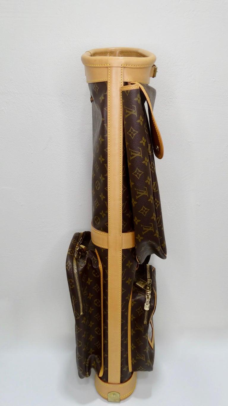 Louis Vuitton Monogram Golf Bag In Good Condition For Sale In Scottsdale, AZ