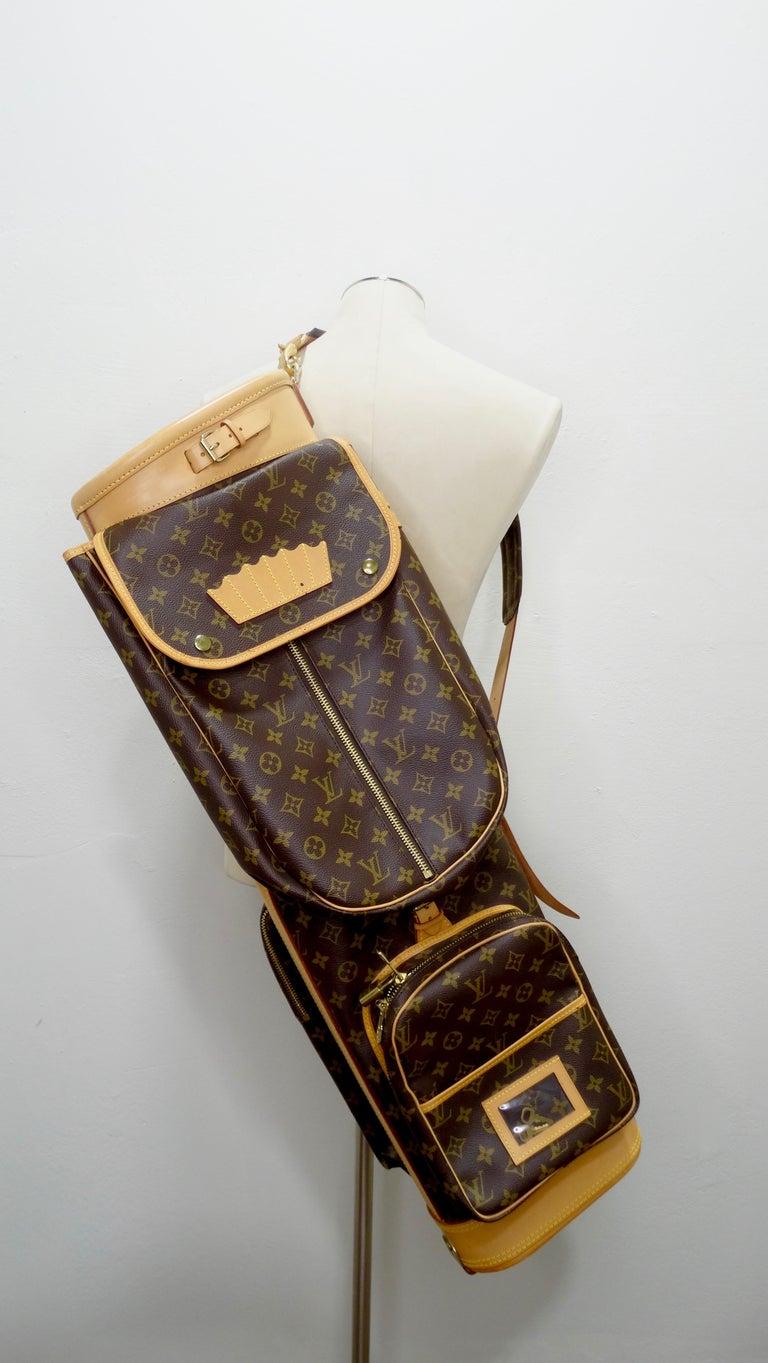 Women's or Men's Louis Vuitton Monogram Golf Bag For Sale