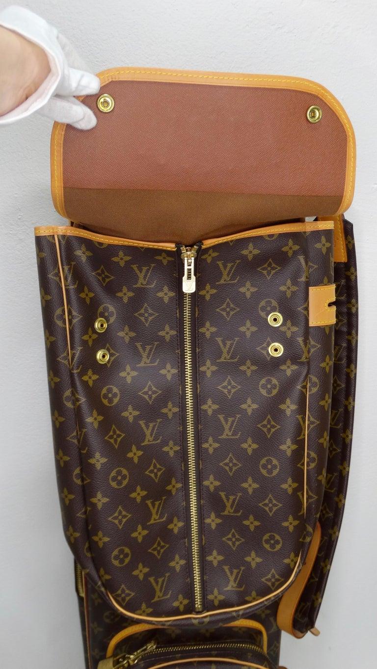 Louis Vuitton Monogram Golf Bag For Sale 2