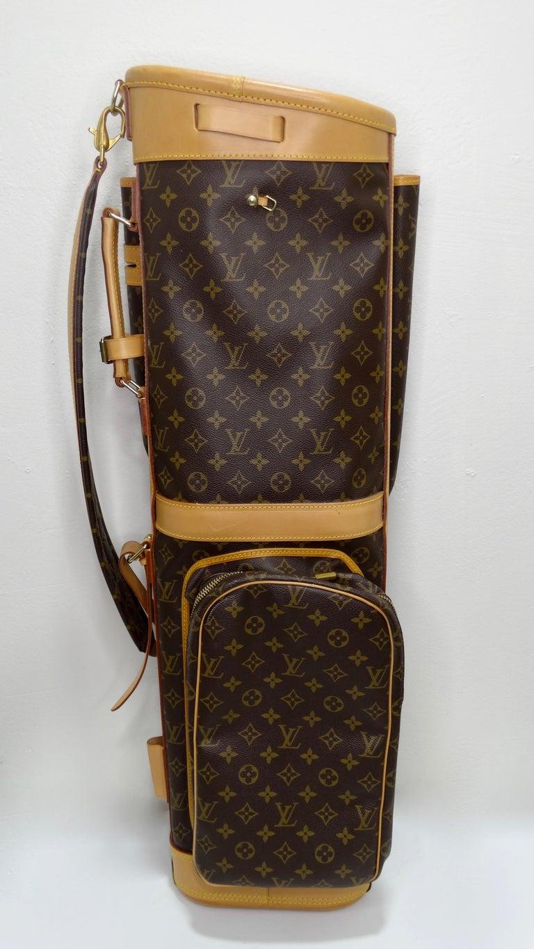 Louis Vuitton Monogram Golf Bag For Sale 3