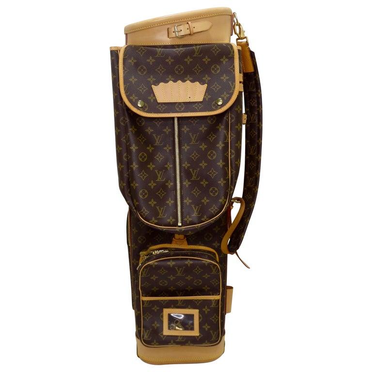 Louis Vuitton Monogram Golf Bag For Sale