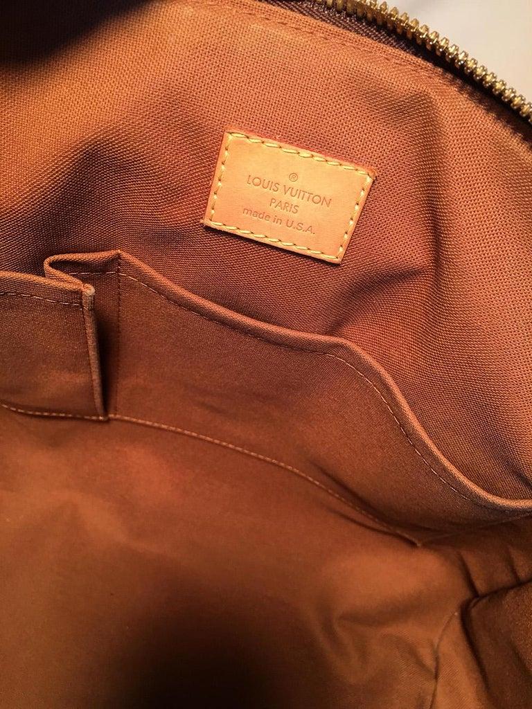 Louis Vuitton Monogram Hand Painted Floral Tivoli GM Shoulder Bag Tote For Sale 3