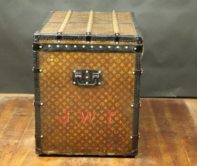 Early 20th Century Louis Vuitton Monogram High Trunk, '1909-1914' For Sale