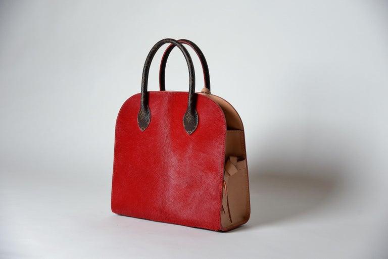 Louis Vuitton Monogram Iconoclast Christian Louboutin bag For Sale 1