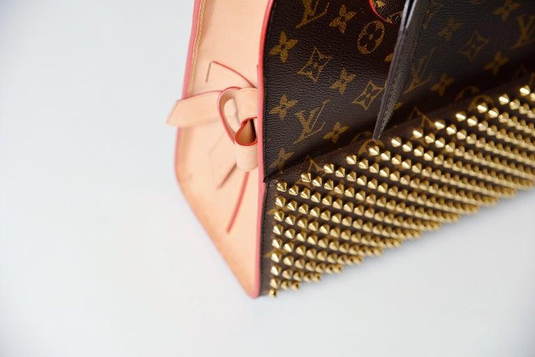 Louis Vuitton Monogram Iconoclast Christian Louboutin bag For Sale 2