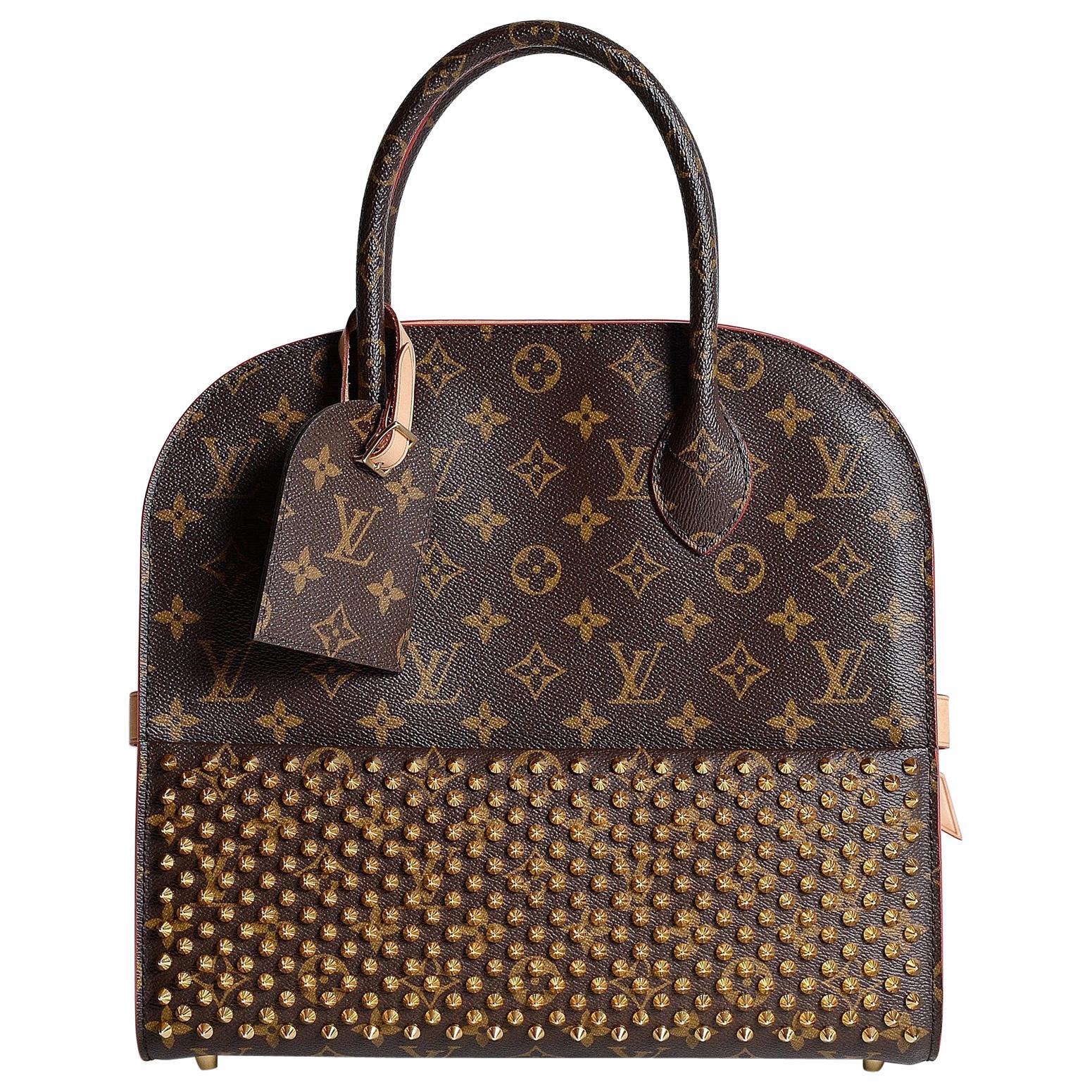 Louis Vuitton Monogram Iconoclast Christian Louboutin bag