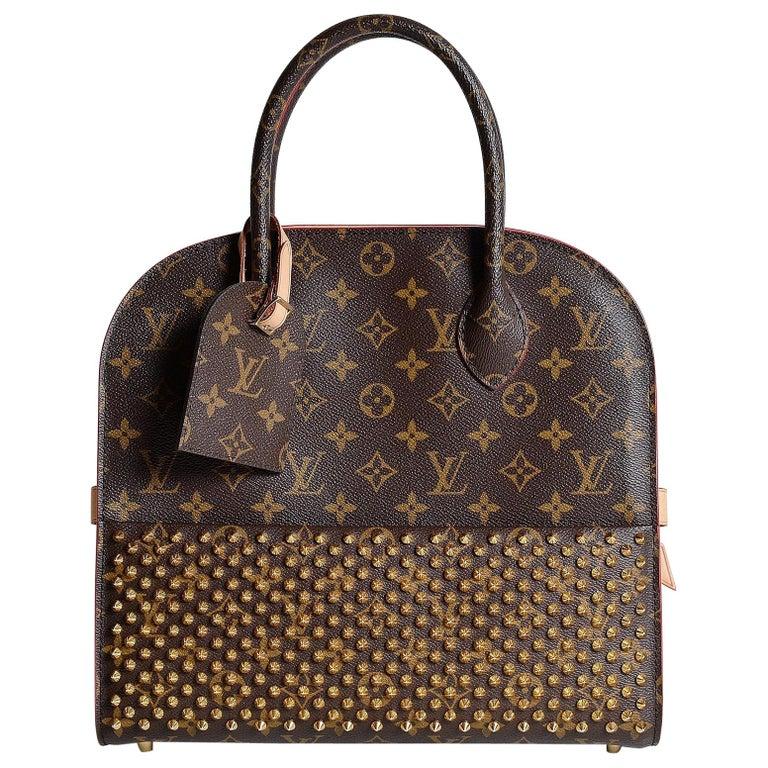 Louis Vuitton Monogram Iconoclast Christian Louboutin bag For Sale