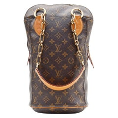 Louis Vuitton Monogram Iconoclast Punching Bag Karl Lagerfeld