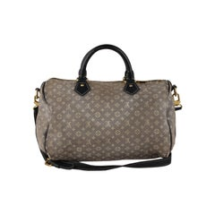70f91925521 Louis Vuitton Monogram Idylle Encre Speedy 30 Bandouliere Bag