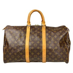Louis Vuitton Monogram Keepall 45 Weekend Bag