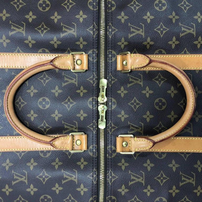 Louis Vuitton Monogram Keepall 50 Travel Bag For Sale 1