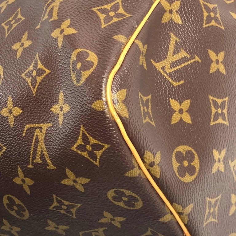 Louis Vuitton Monogram Keepall 50 Travel Bag For Sale 4