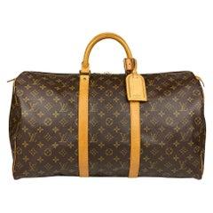 Louis Vuitton Monogram Keepall 50 Weekend Bag