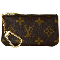 Louis Vuitton Monogram Key Pouch/ Coin Purse
