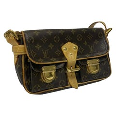 Louis Vuitton Monogram Leather Manhattan PM Shoulder Bag