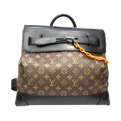 Louis Vuitton Monogram Leather Steamer Shoulder Bag
