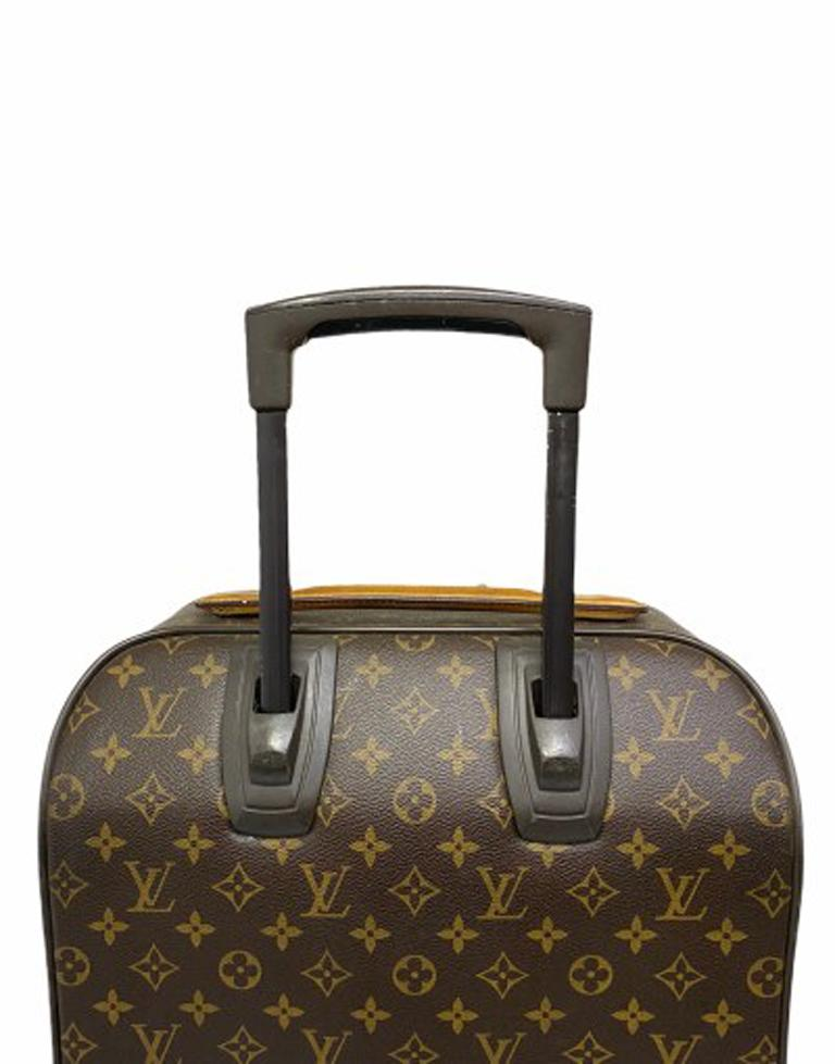 Louis Vuitton Monogram Leather Trolley  For Sale 5