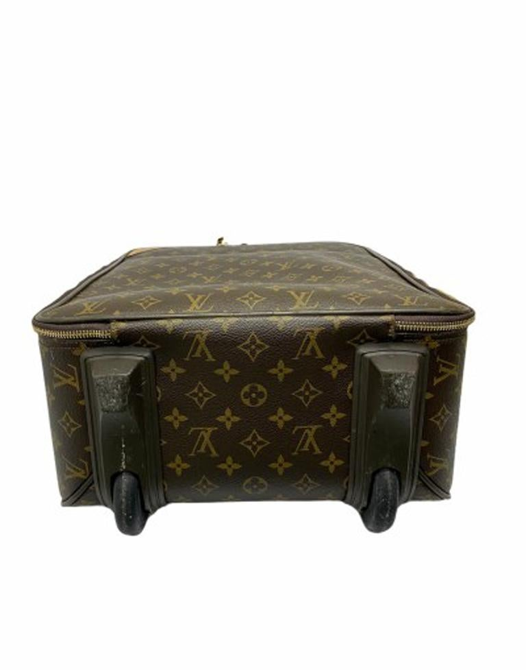 Louis Vuitton Monogram Leather Trolley  For Sale 6