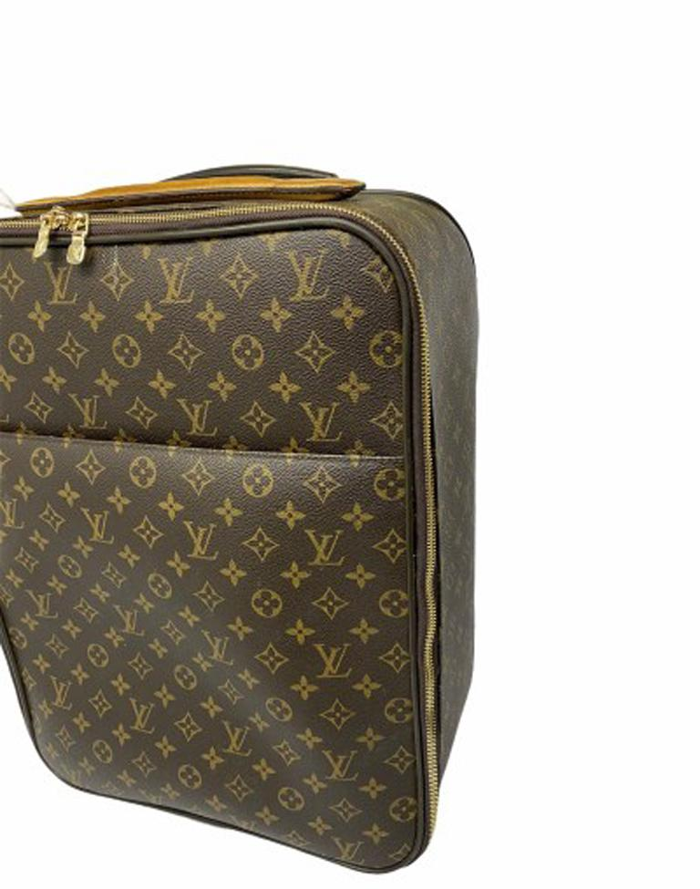 Louis Vuitton Monogram Leather Trolley  In Good Condition For Sale In Torre Del Greco, IT