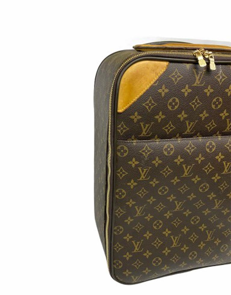 Louis Vuitton Monogram Leather Trolley  For Sale 1
