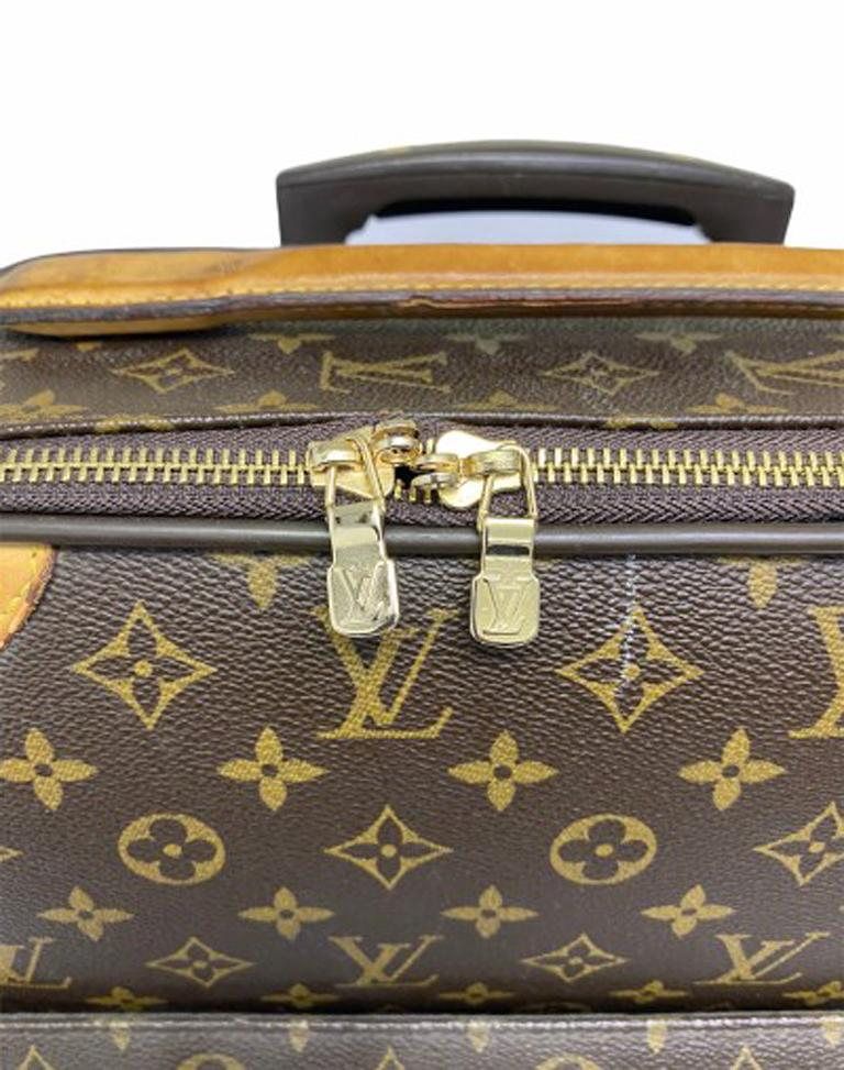Louis Vuitton Monogram Leather Trolley  For Sale 3