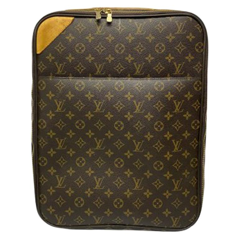 Louis Vuitton Monogram Leather Trolley  For Sale