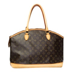 Louis Vuitton Monogram Lockit Horizontal Tote Bag