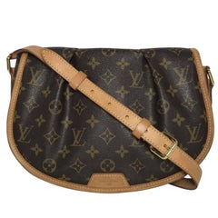 Louis Vuitton Monogram Menilmontant PM Bag