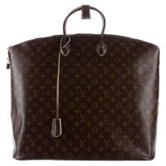 Louis Vuitton Monogram Men's Women's Carryall Duffle Top Handle Travel Tote Bag