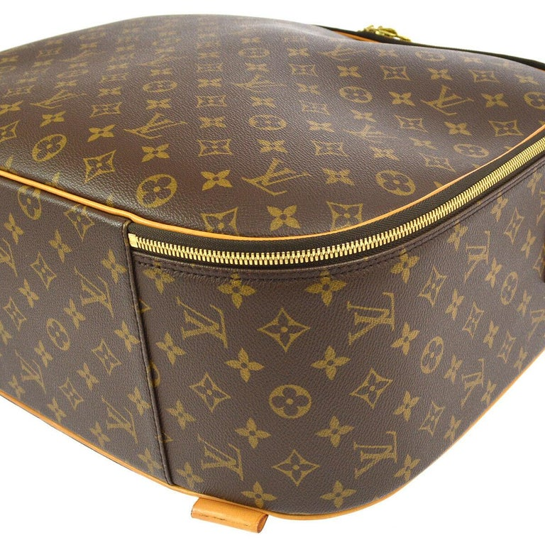 Louis Vuitton Monogram Men's Women's Carryall Travel Duffle SuitcaseShoulder Bag In Good Condition In Chicago, IL