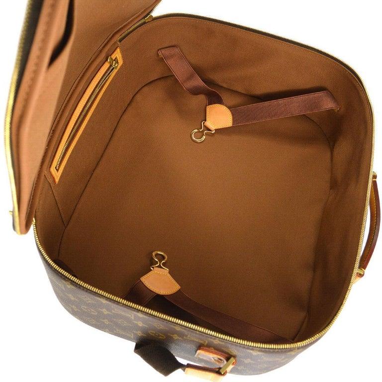 Louis Vuitton Monogram Men's Women's Carryall Travel Duffle SuitcaseShoulder Bag 1