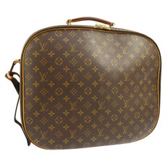 Louis Vuitton Monogram Men's Women's Carryall Travel Duffle SuitcaseShoulder Bag