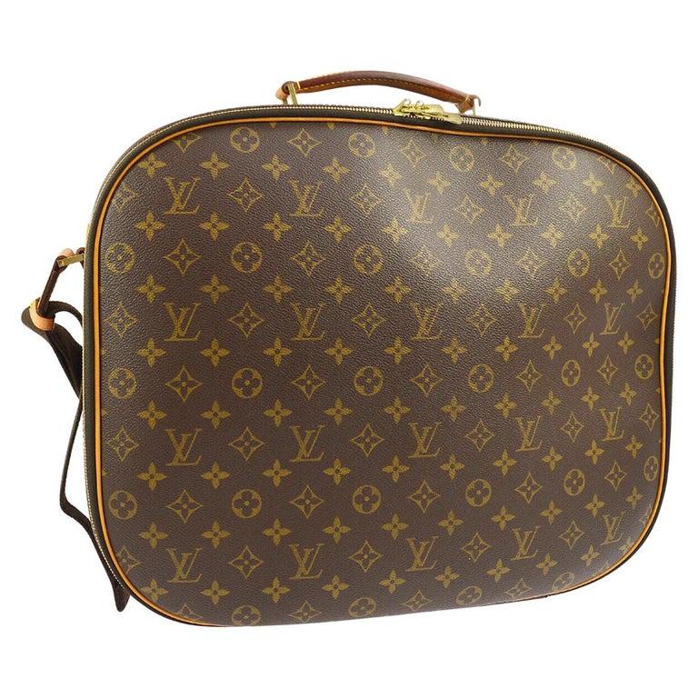 Louis Vuitton Monogram Men's Women's Carryall Travel Duffle SuitcaseShoulder Bag