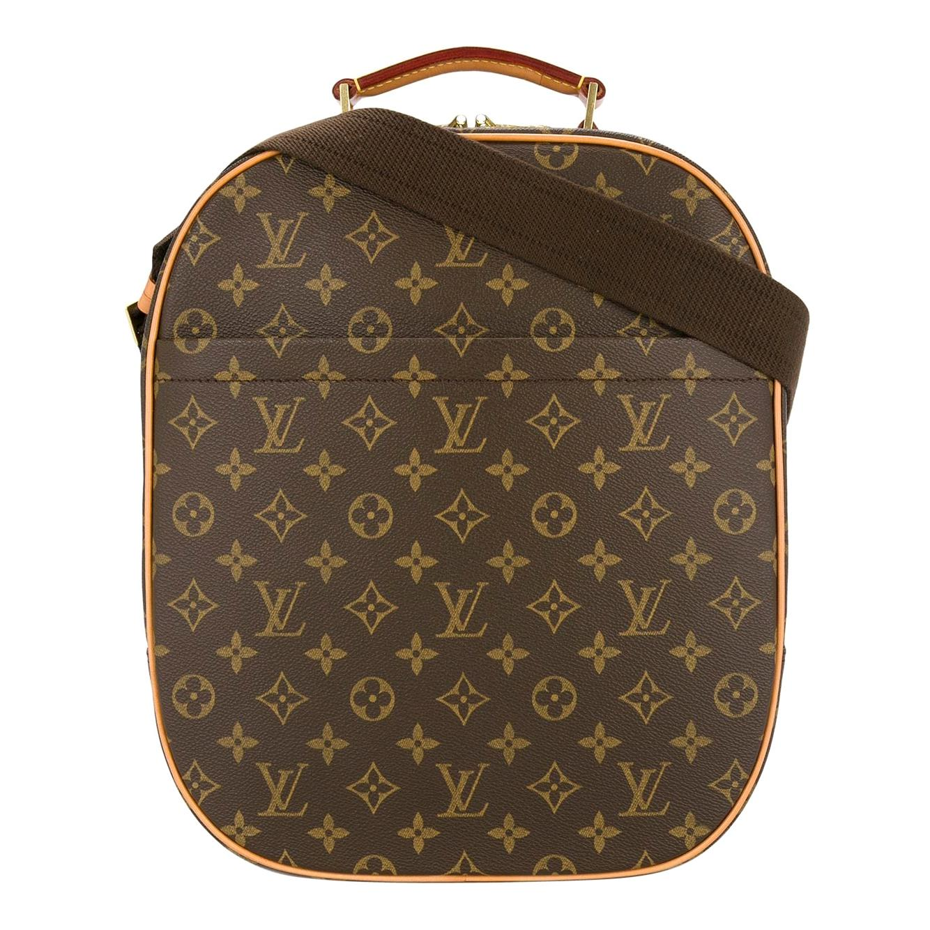 Louis Vuitton Monogram Men's Women's Carryall Travel One Shoulder Backpack Bag