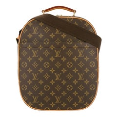Louis Vuitton Monogram Men's Women's Carryall Travel One Shoulder Backpack Bag