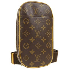 Louis Vuitton Monogram Men's Women's Crossbody Shoulder Fanny Waist Belt Bag
